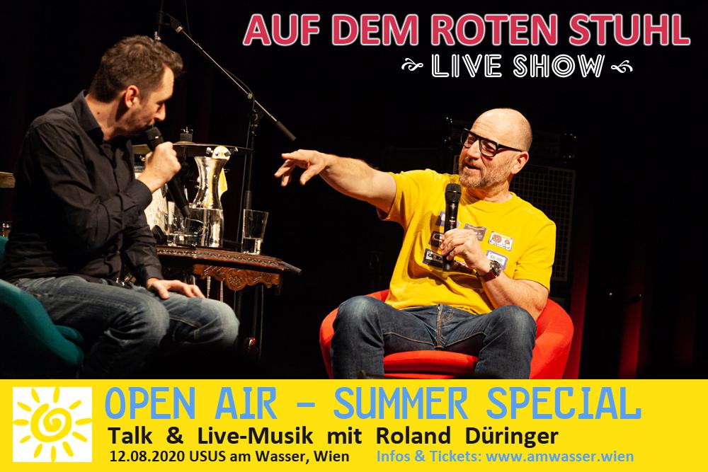 Flyer_Usus_Show_Roland_Düringer